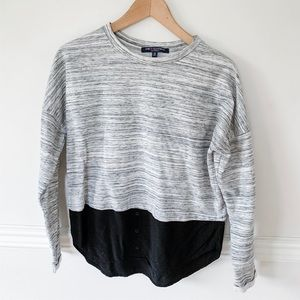 One clothing double layer top.